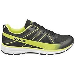 Gola - Black/volt 'G-max' trainers