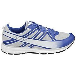 Gola - Grey/reflex Blue/silver 'G-max' trainers