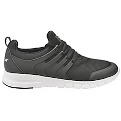 Gola - Black/White 'Gravity' men's lace up sports trainers