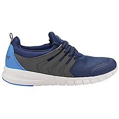 Gola - Navy and grey 'Gravity' mens lace up sports trainers