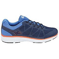 Gola - Navy/blue/orange 'Ice' trainers