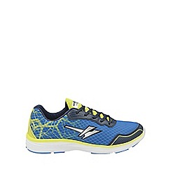 Gola - Blue/volt 'Vallis' mens lace up trainers