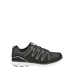 Gola - Black/white 'Termas 2' mens lace up trainers