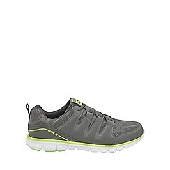 Gola - Grey/black/lime 'Termas 2' mens lace trainers