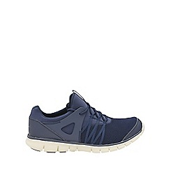 Gola - Navy/white 'Akita' mens lace up shoes