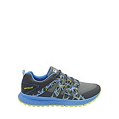Gola - Grey/black/blue 'Alberta Tr' mens trainers