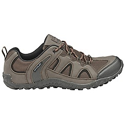 Gola - Brown/black 'Elias' mens trekking shoes