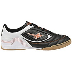 Gola - Black/white/orange 'Slide' mens multi surface shoes