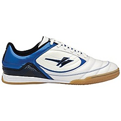 Gola - White/blue/black 'Slide' mens multi surface shoes