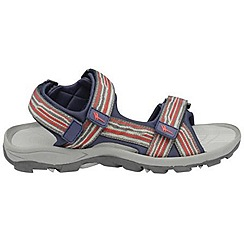 Gola - Grey/red/navy 'Pilgrim' sandals