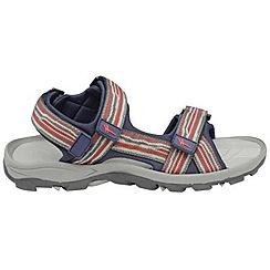 Gola - Grey/red/navy 'Pilgrim' sandals