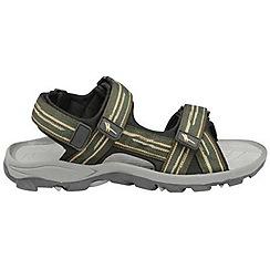 Gola - Forest green/stone/black 'Pilgrim' sandals