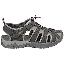 Gola - Black/grey/red 'Shingle 2' sandals