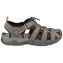 Gola - Dark brown/black/sun 'Shingle 2' sandals
