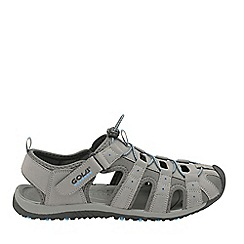 Gola - Grey/black/blue 'Shingle 3' mens trekking sandals