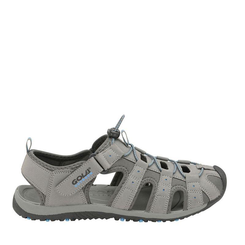 Gola Grey/black/blue Shingle 3 mens trekking sandals