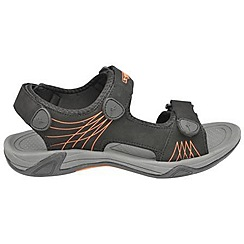 Gola - Black/orange 'Treko' sandals