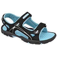 Dunlop - Black raft sandals