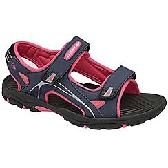 Dunlop - Navy raft sandals