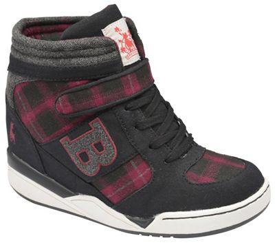 Babycham Black/purple ´Giselle Wedge´ sneakers - . -