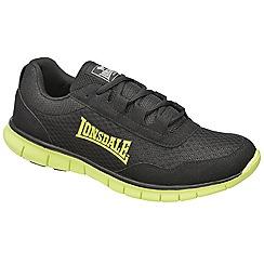 Lonsdale - Black/volt 'southwick' trainers