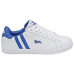 Lonsdale - White 'Lonsdale' coburn trainer