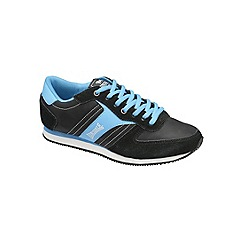 Lonsdale - Black 'Coniston' trainers