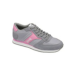 Lonsdale - Grey 'Coniston' trainers