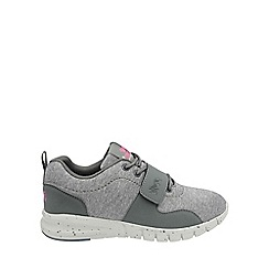 Lonsdale - Grey and pink 'Novas' trainers