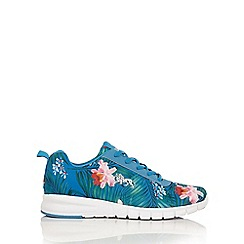 Lonsdale - Blue 'Mosa Flower' trainers