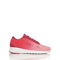 Lonsdale - Pink and white 'Remi' trainers