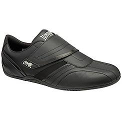 Lonsdale - Black/Grey 'Darien' trainers