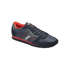 Lonsdale - Navy/red 'Coniston' trainers