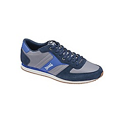 Lonsdale - Grey/Navy/Blue 'Coniston' trainers