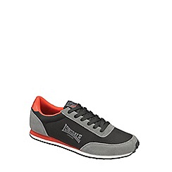 Lonsdale - Black 'Broughton' mix trainers