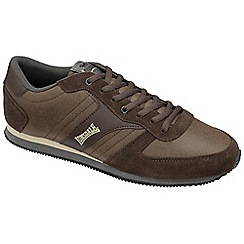 Lonsdale - Brown 'Coniston' dist trainers