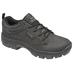 Lonsdale - Black 'Ormside' low boots