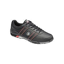 Lonsdale - Black/Red/Grey 'Bekker' trainers