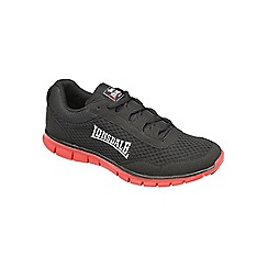 Lonsdale - Black/Red 'Southwick' trainers
