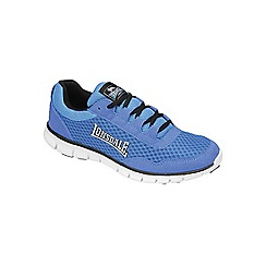 Lonsdale - Blue/Black/White 'Soutwick' trainers