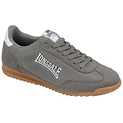 Lonsdale - Grey 'Quinn' trainers