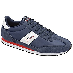 Lonsdale - Navy/white/red 'imperial nylon' trainers