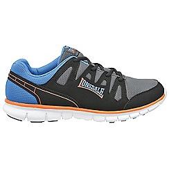 Lonsdale - Black 'Lonsdale' caldas trainer