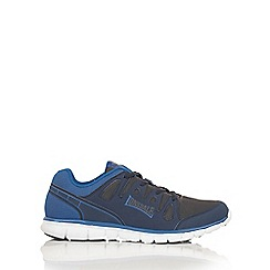 Lonsdale - Navy and grey 'Caldas' trainers