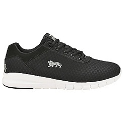 Lonsdale - Black/White 'Tydro' mens lace up trainers