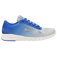 Lonsdale - White/Blue 'Remi' mens lace up trainers