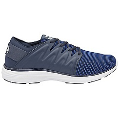 Lonsdale - Navy 'Peru' mens lace up sports trainers