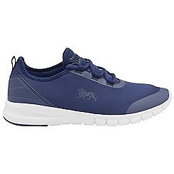 Lonsdale - Navy/White 'Zambia' mens lace up sports trainers