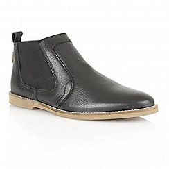 Frank Wright - Black 'Wise II' leather chelsea boots