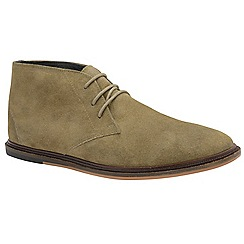 Frank Wright - Almond 'Walker' men's lace up boots